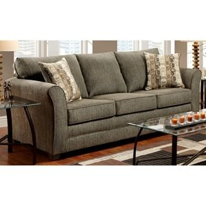 Essex Sofa - Accent Pillows, Radar Graphite Fabric