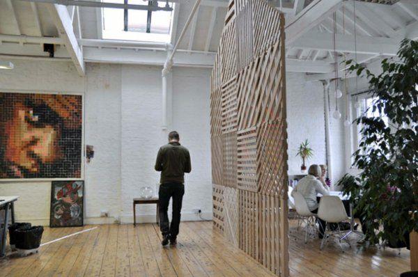 Raumteiler Ideen Aus Holz Design Raumteiler Dekor | Blaues Zimmer