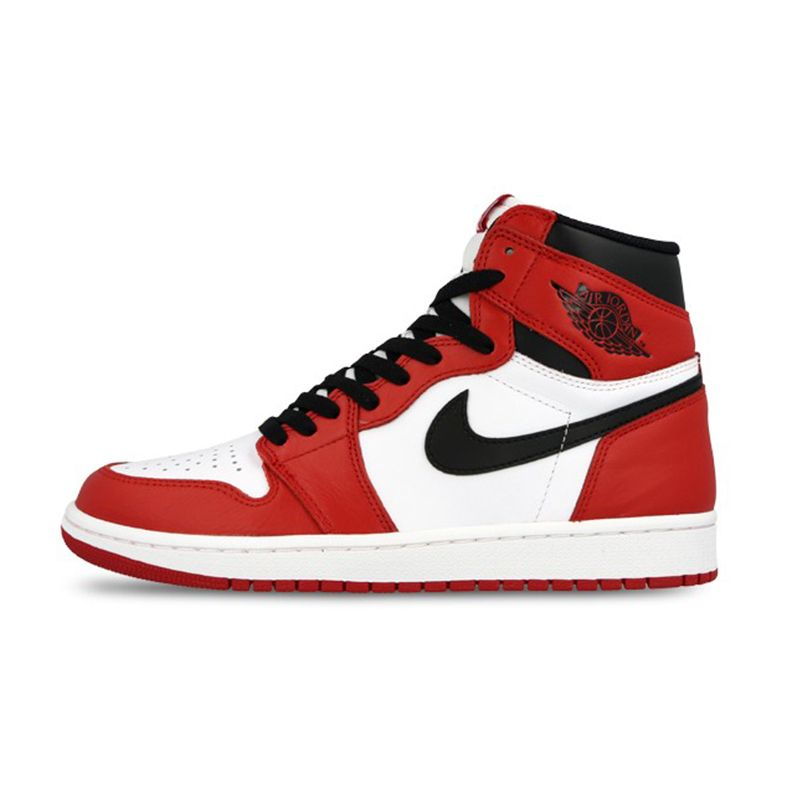 red nike high tops mens