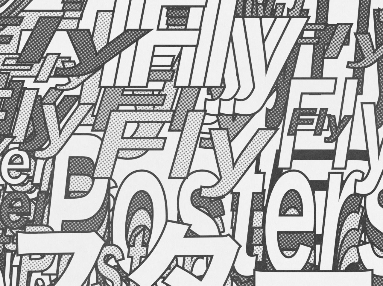 Villa Dean's Journal Typography, Art club, Graphic