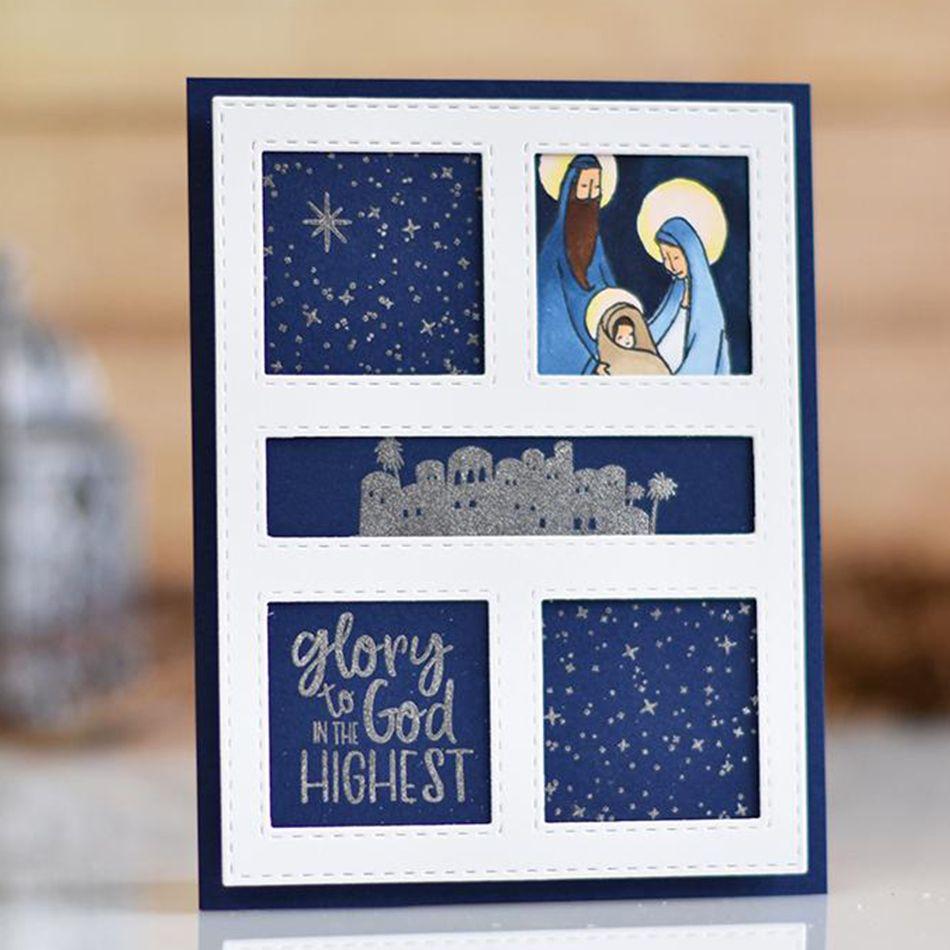 New Metal Cutting cela Floral Joyeux anniversaire design les Cutter Paper Card Craft