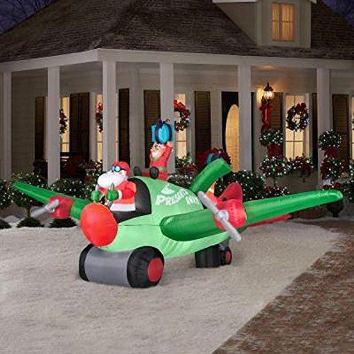 Inflatable Christmas decorations helicopter