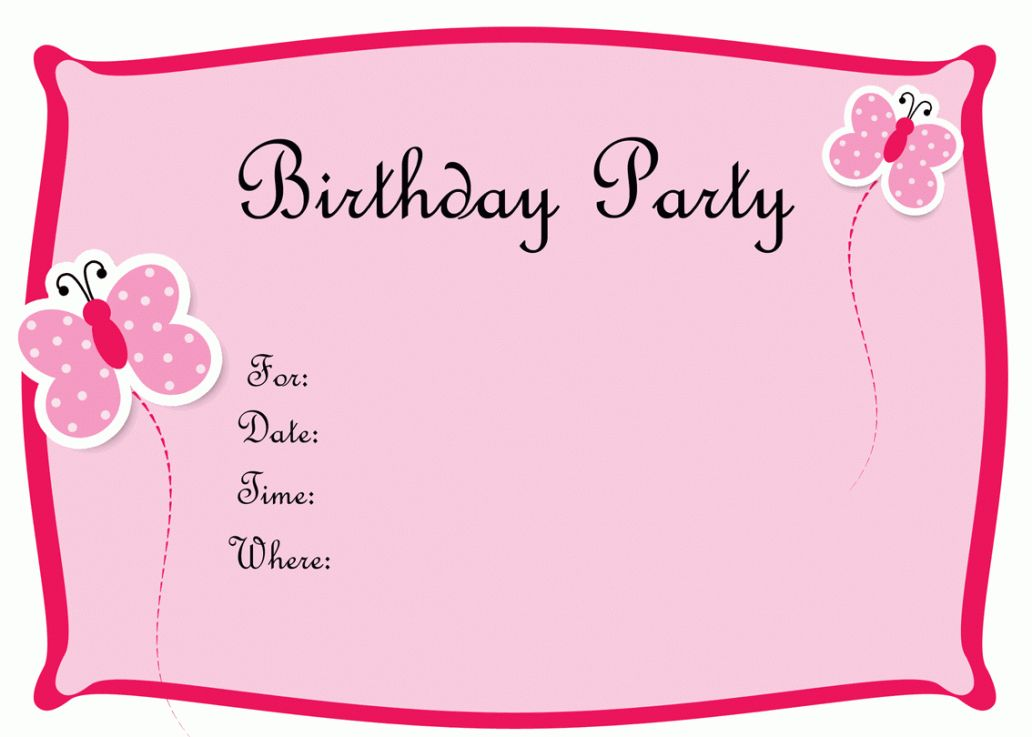 Create Birthday Invite Maker Free New HD