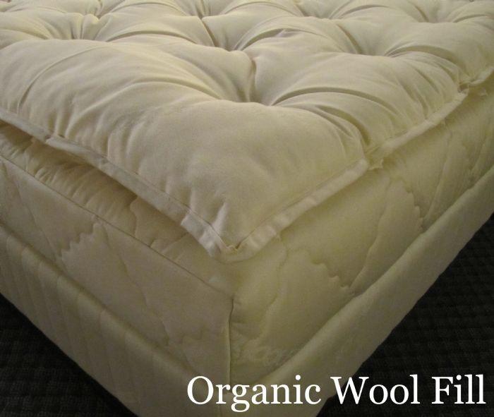 Dormio Celeste Wool Topper From Dormio Organic Beds