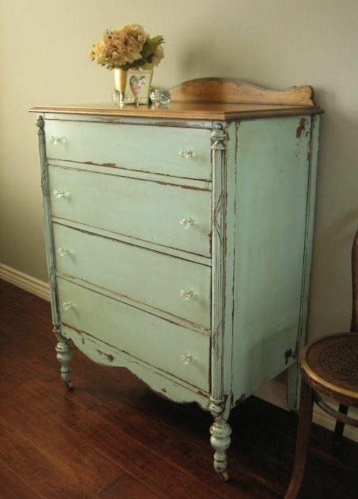 vintage m bel selber machen bearbeitungstpps f r holzm bel pinterest blau vintage und. Black Bedroom Furniture Sets. Home Design Ideas