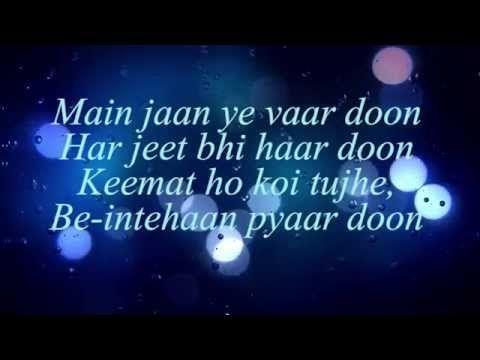 Hasi Ban Gaye Lyrics Female Version Shreya Ghoshal Hamari Adhuri Kahani Lyrics Bollywood Songs Love Songs