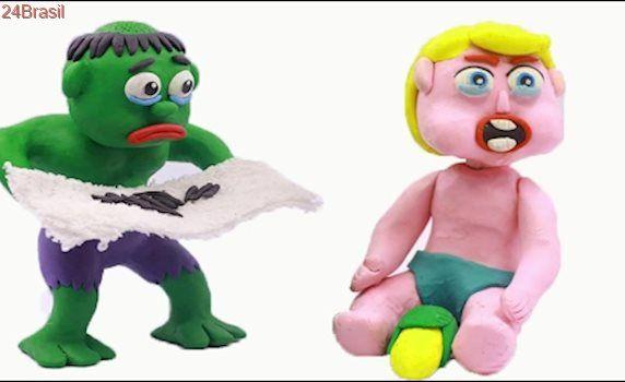 LOR Bad Baby Compilation 1 Hulk vs Elsa Bad Baby Superhero In Real