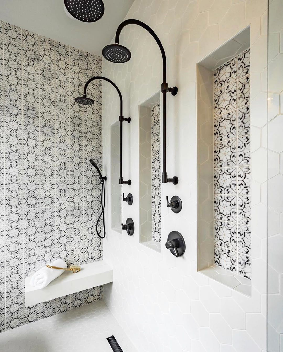 Photo of His & your shower design