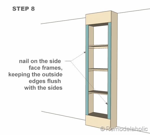 Free Plans For Built In Bookshelves