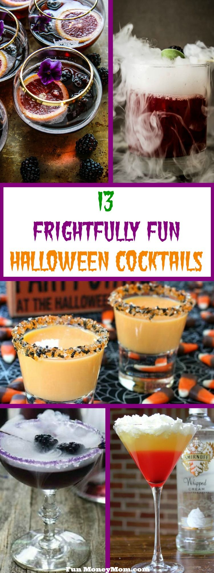13 Frightfully Fun Halloween Cocktails | Halloween cocktails, Dry ...