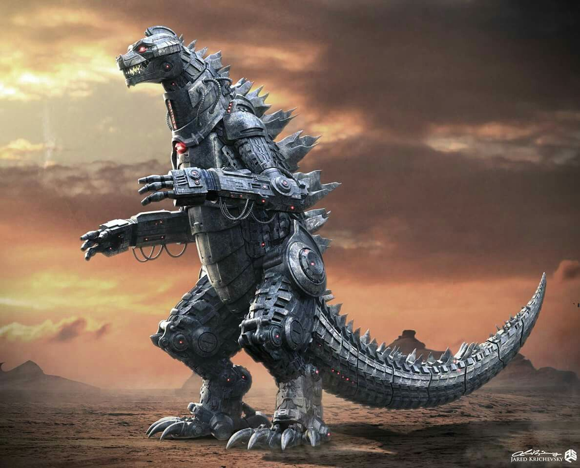 Image result for mechagodzilla concept art 2020