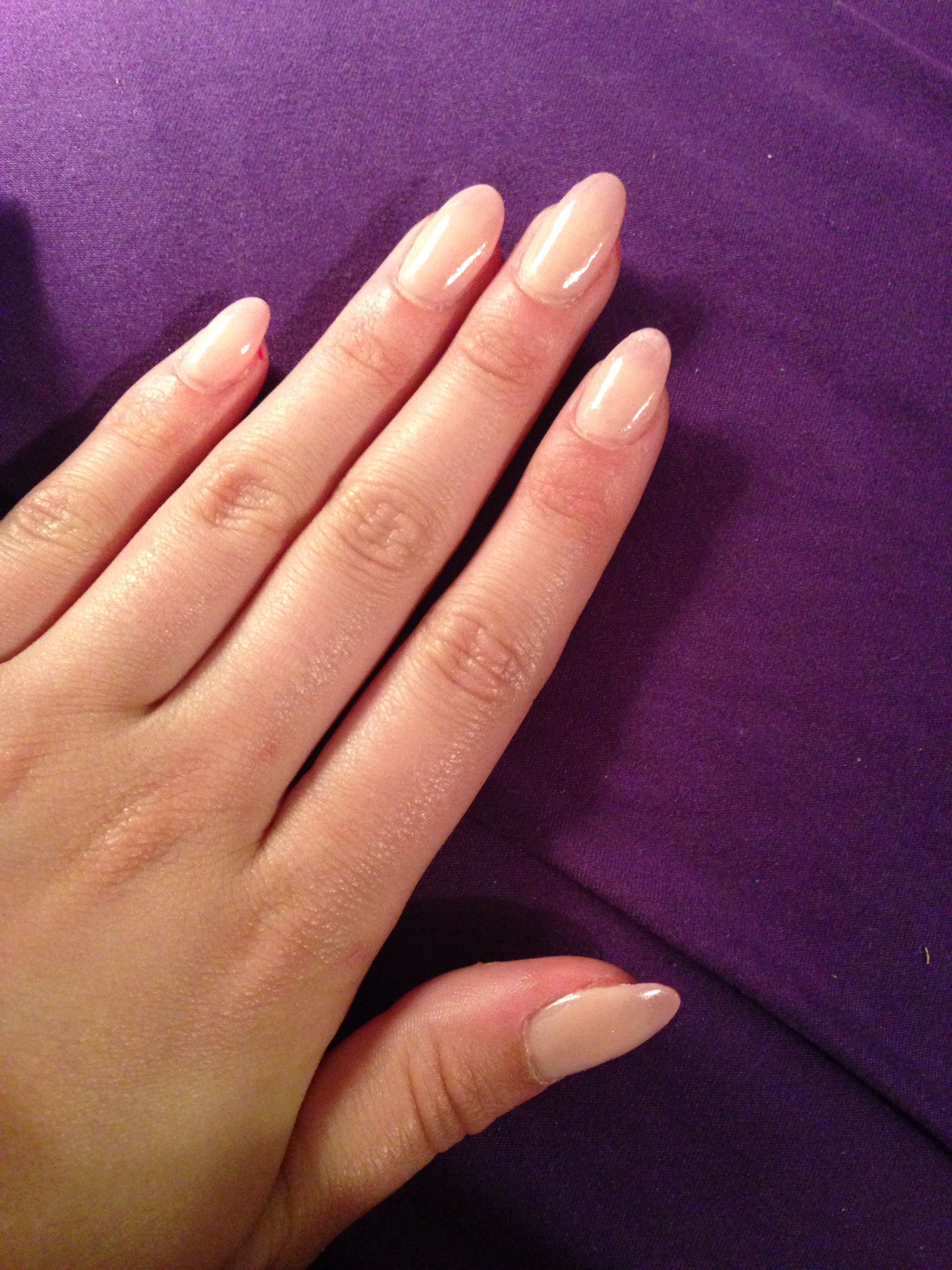 Nude almond nails | Claws • | Pinterest