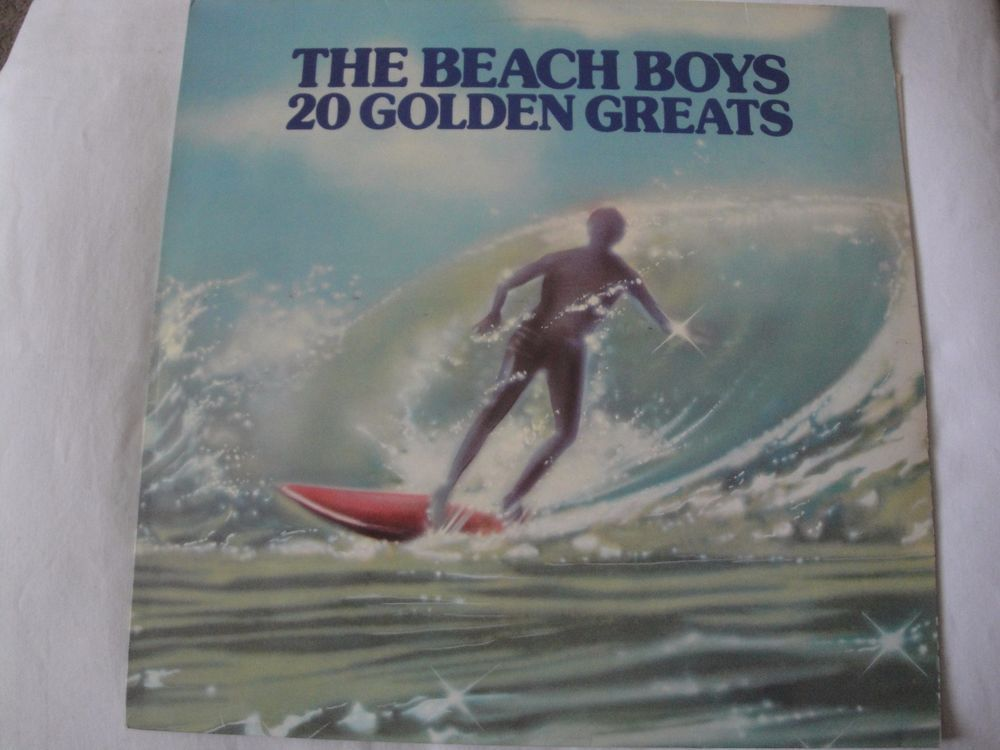THE BEACH BOYS 20 GOLDEN GREATS VINYL LP 1976 EMI RECORDS EMTV 1, STEREO UK  #AcousticBluesRockFolkCountryRockRocknRollSingerSongwriterSurfHotRod