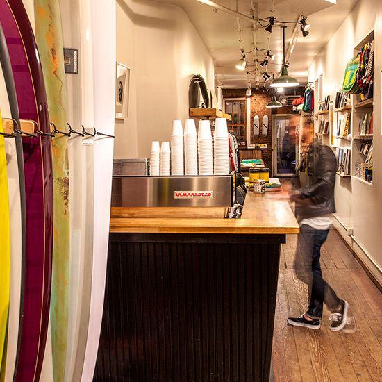 Hybrid Coffee Shops Coffee Shop Surf Coffee Coffee Shop Design