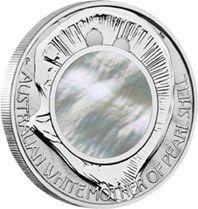 Nácar en plata o la madre perla australiana