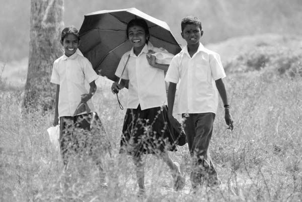 School Children, Back Waters, Kerala  India Xxx -6356
