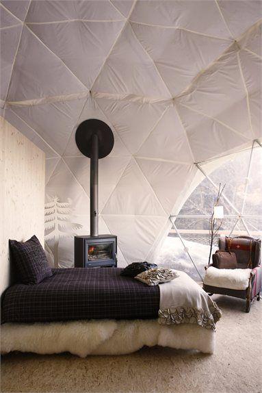 white pod, monthey resort, switzerland // design: angelique buisson ...