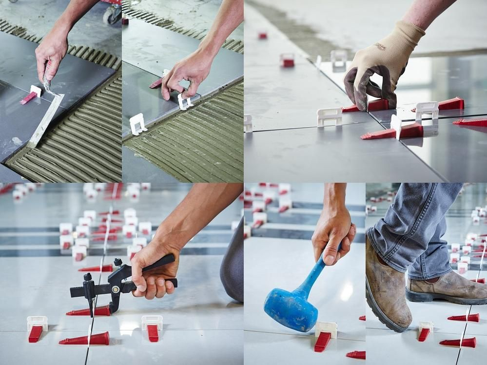 The Perfect Level Master Plm Tile Leveling System Allows Anyone To Lay Tiles Straight And Even On Both Floors And Walls Perfect Tile Spacers Flooring Tiles