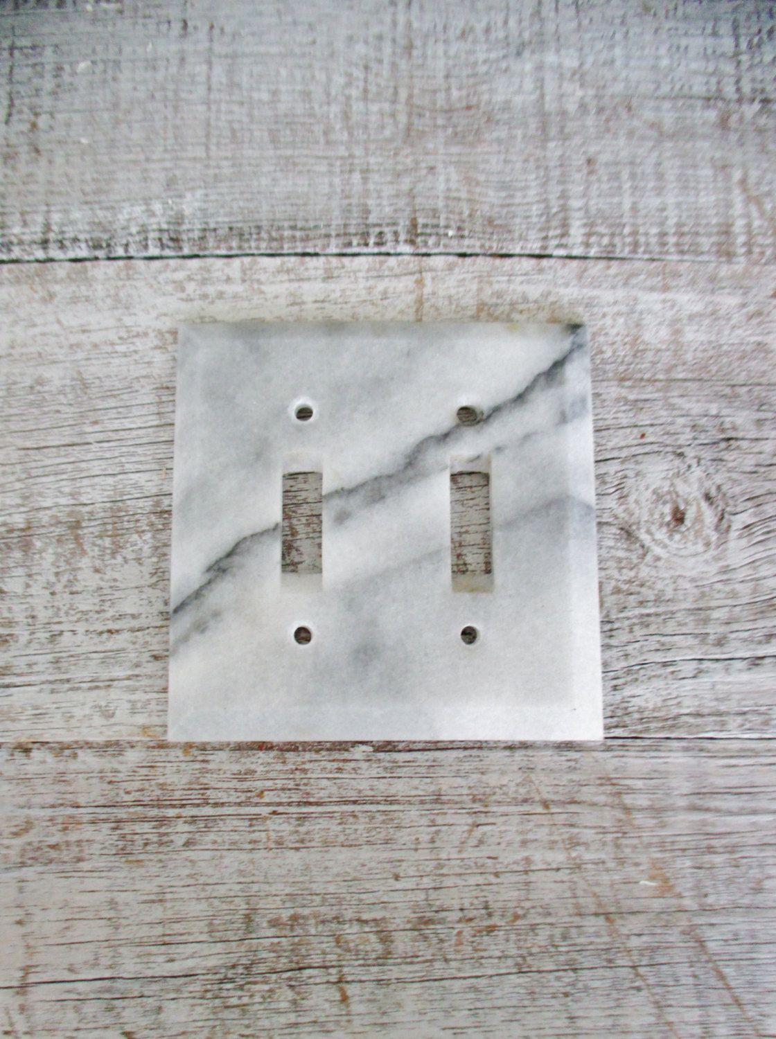 Light Switch Cover Double Marble Light Switch Cover Mid Century