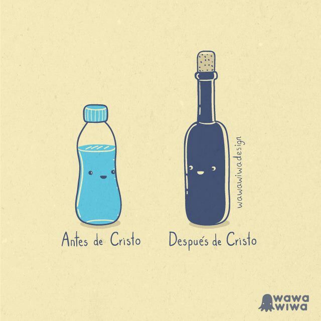 Agua en vino
