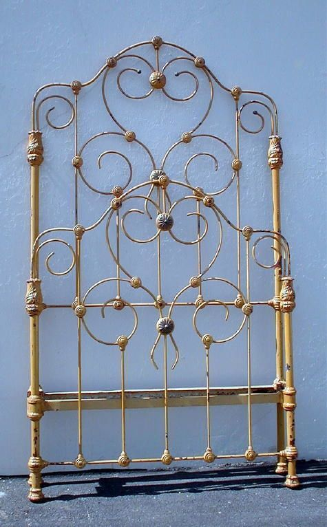 few twin size iron beds were ever this tall antique iron bedswrought