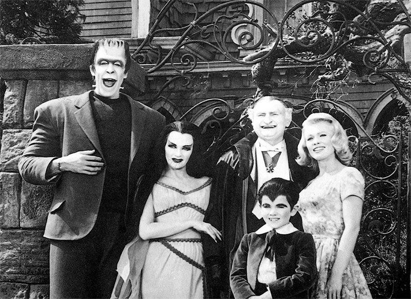 La Familia Monster 60s Tv Shows The Munsters The Munsters Cast