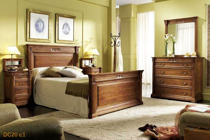 Dormitorios matrimonio clasicos buscar con google - Baul para dormitorio ...