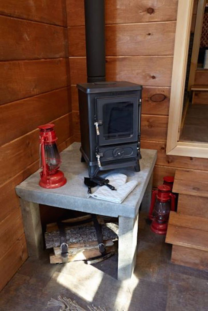 Wood burning stove - Wood Burning Stove My Tiny House: Heat Pinterest Stove