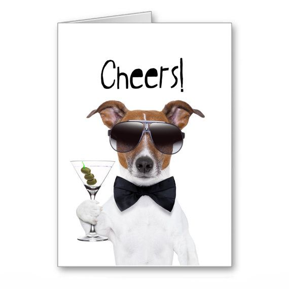 Greetings Cards-Happy Birthday-Jack Russell By