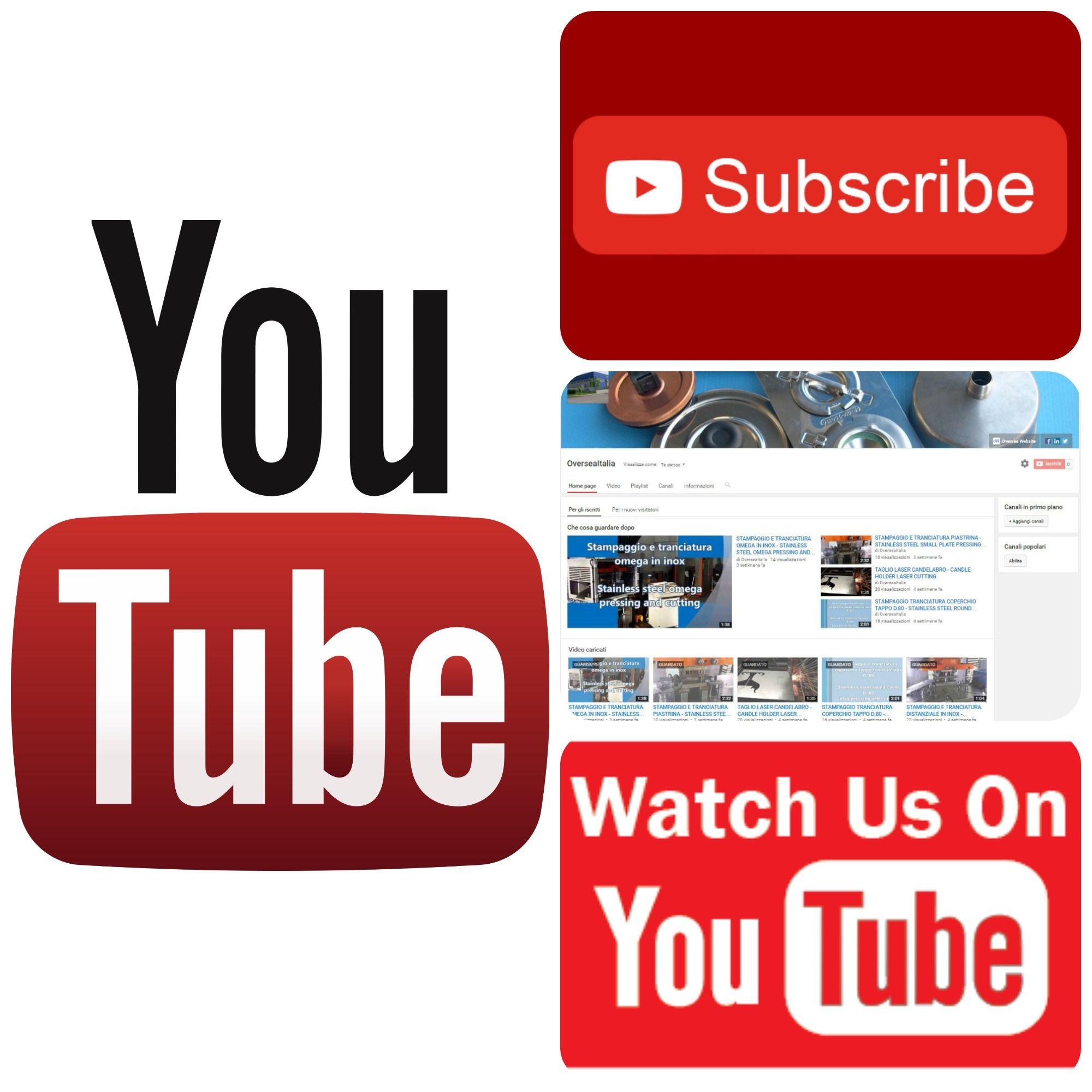Follow us on Youtube (con immagini) Imbutitura, Stampaggio