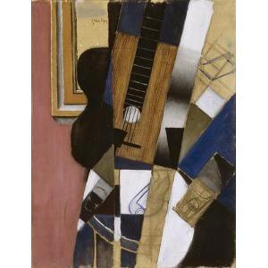 Guitar and Pipe, Juan Gris, 1913, Dallas Museum of Art
