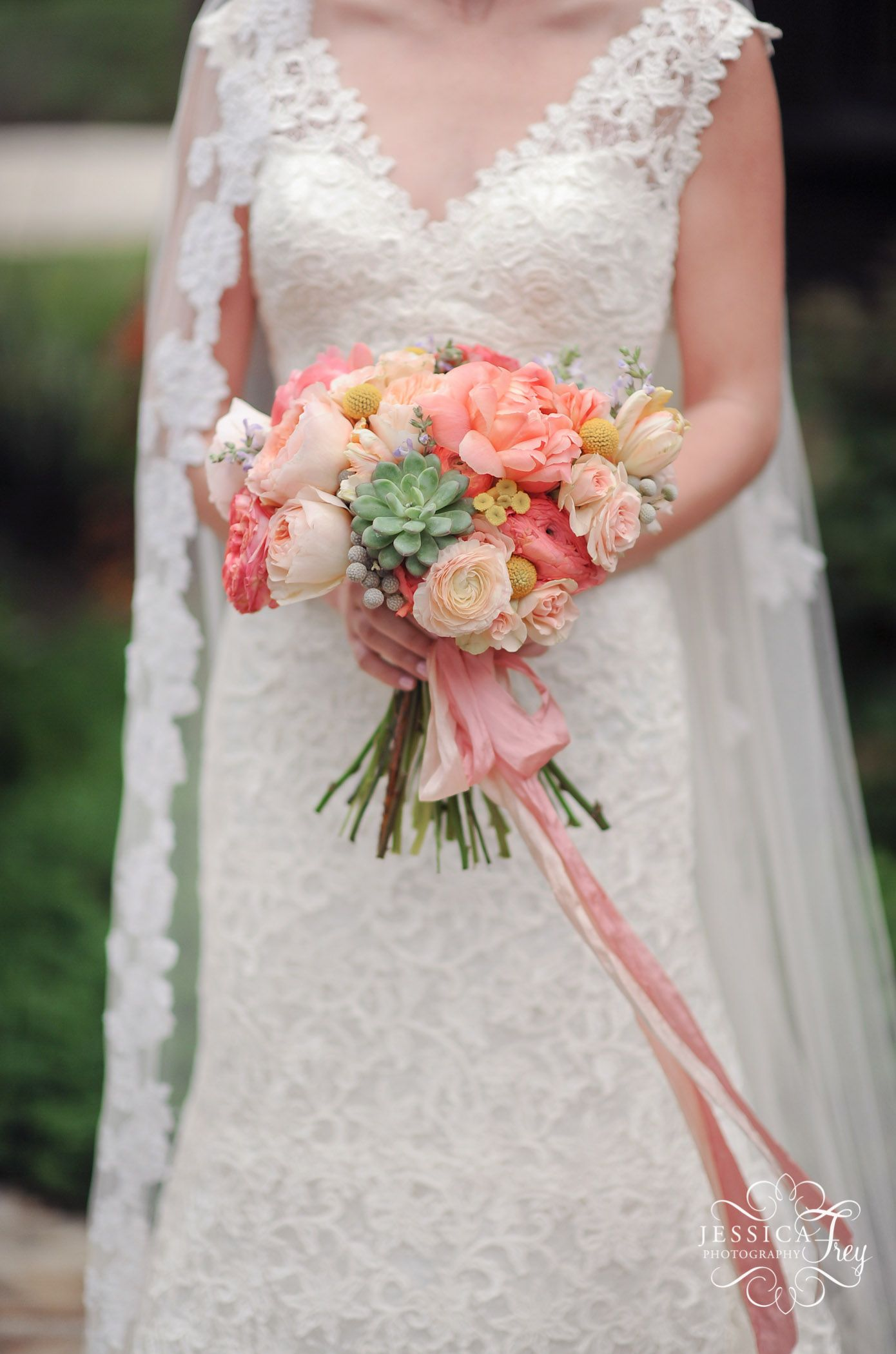sprout flowers silk willow pink silk coral pink wedding bouquet jessica frey photography boot ranch wedding austin wedding photographer coral pink