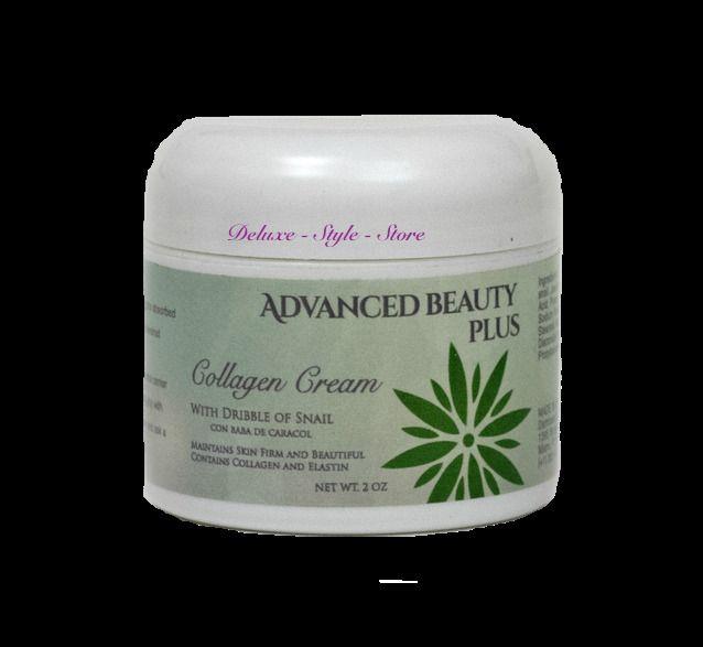 Advanced Beauty Plus Collagen Elastin Cream Manteins Skin Firm And