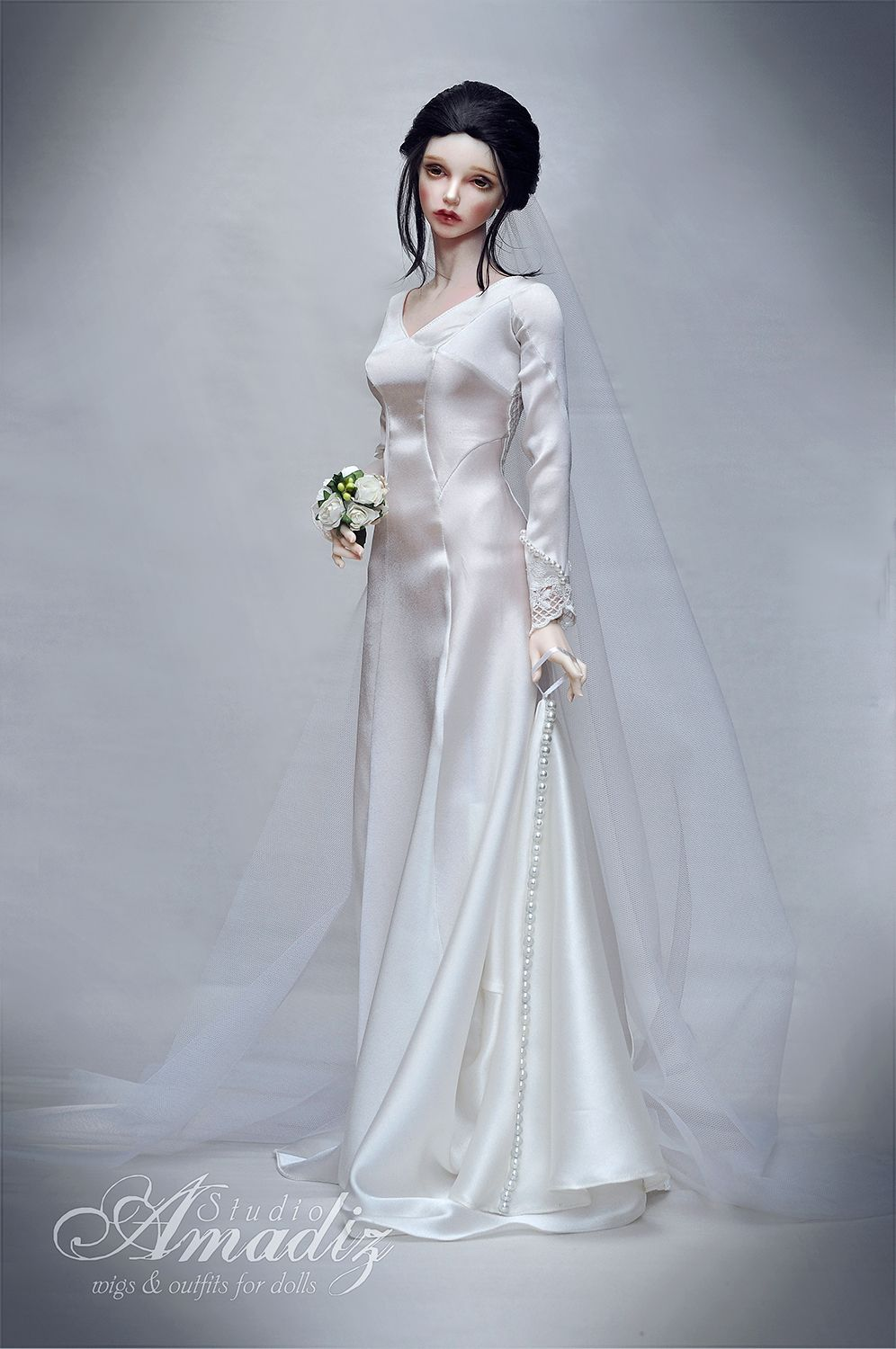 doll #bridal #gowns / 1...2 | Barbie/Doll Brides! | Pinterest