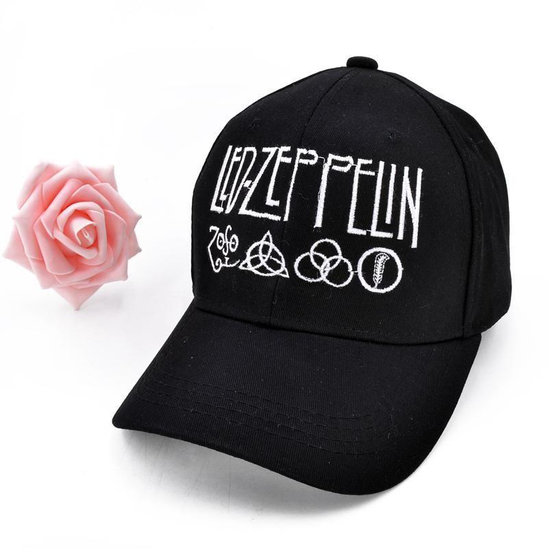 Led Zeppelin Rock Band GOOD Quality brand cap for men women Gorras Snapback  Caps Baseball Caps Casquette hat Sports Outdoors Cap. 52cbfcc2ded