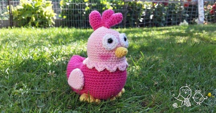 Amigurumis Navideños Patrones Gratis : Patrón gratuito para elaborar esta gallina amigurumi. amigurumis