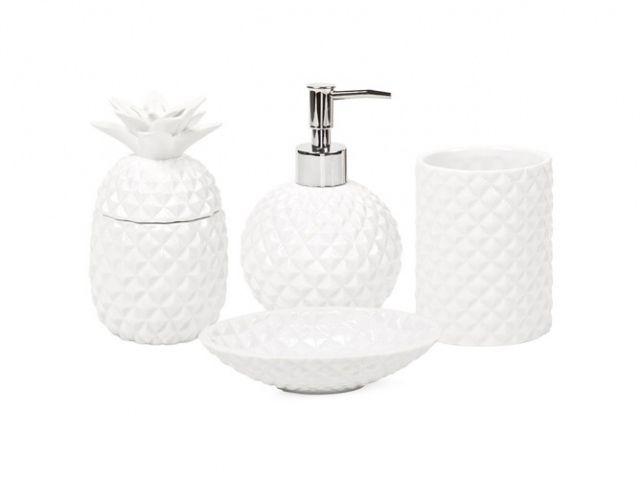 Accessoire salle de bains ananas zara home | Anas anas | Pinterest ...