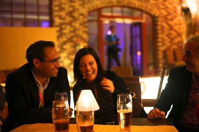 New Friends | Flickr: Having a proper laugh