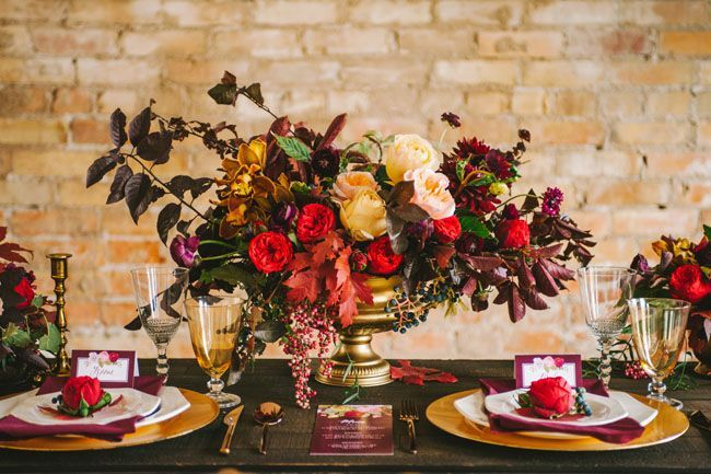 30 Fabulous Fall Wedding Tablescapes To Inspire Your Thanksgiving Table Decor