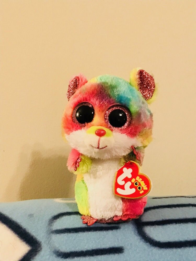 RODNEY TY BEANIE BOOS THE BEANIE BOO/'S COLLECTION