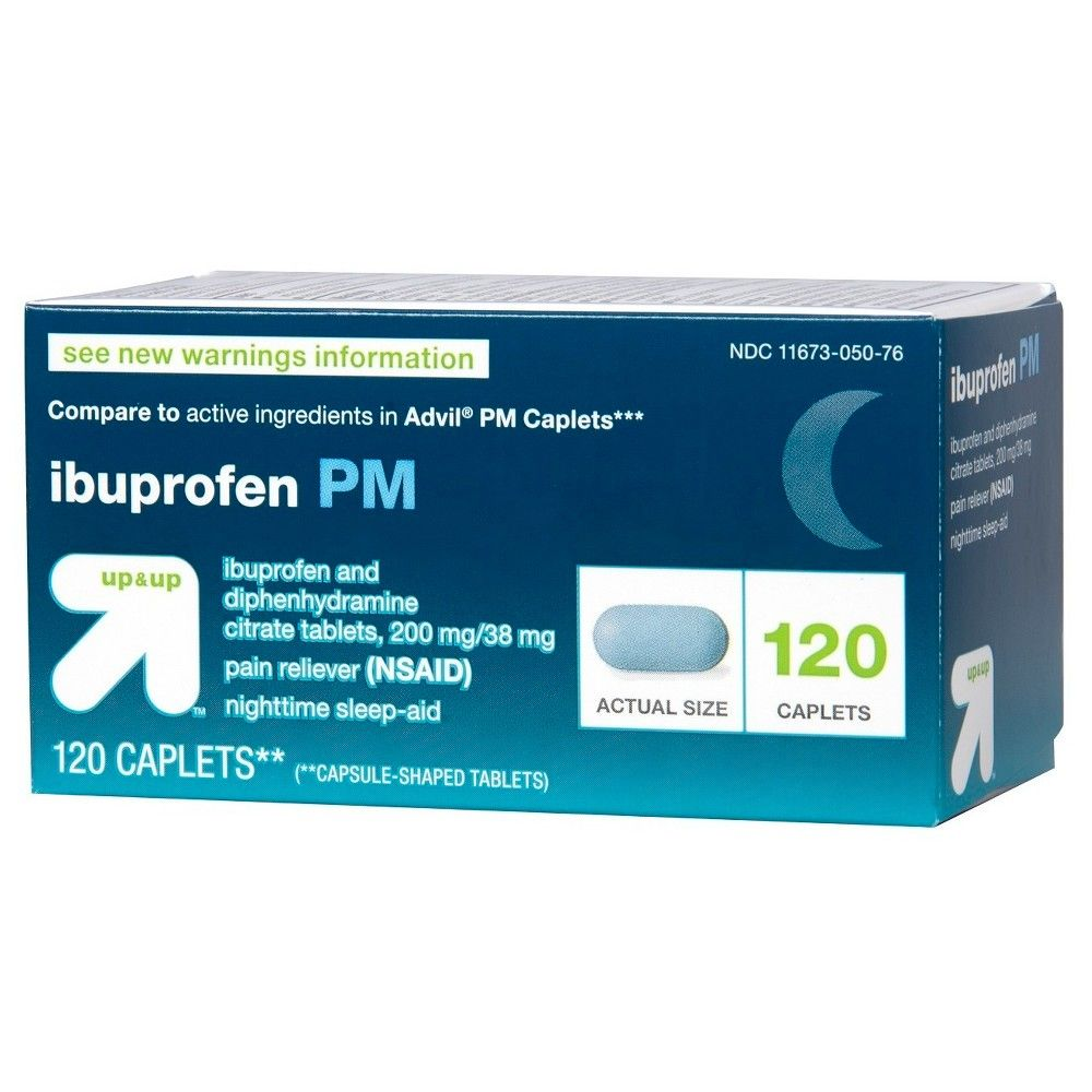 Ibuprofen (NSAID) PM Extra Strength Pain Reliever/Nighttime