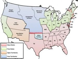 Compromise Of Map US History Maps Pinterest History - 1850 map of us
