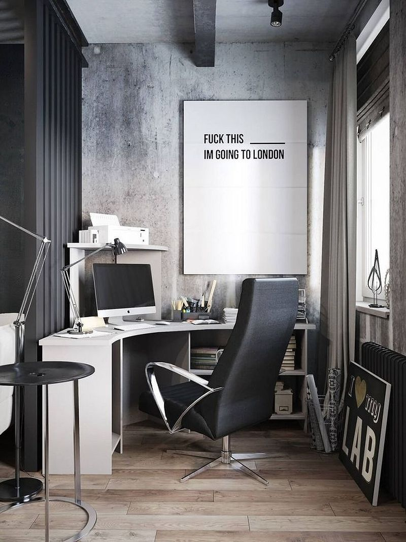 Gorgeous 50+ Fabulous and Simple Home Office Design Ideas for Men ...