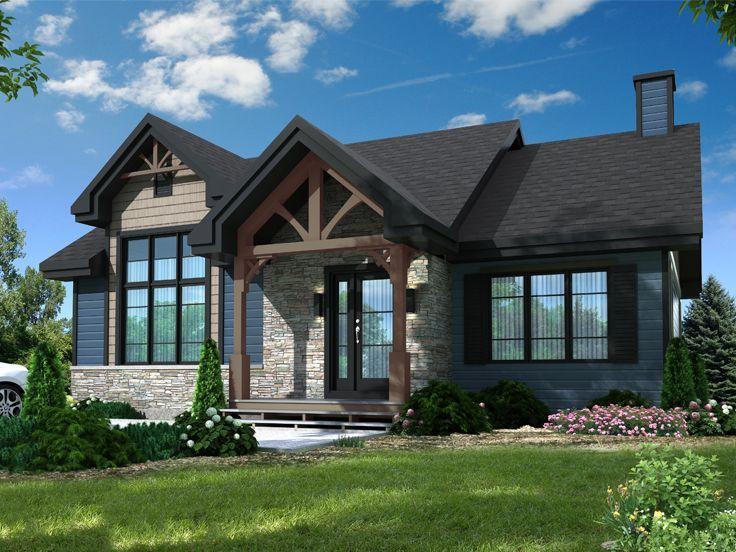 027h 0471 Empty Nester House Plan Drummond House Plans