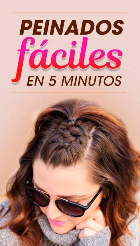 15 Sencillos trucos para peinarte en ¡menos de 5 minutos!  – Peinados