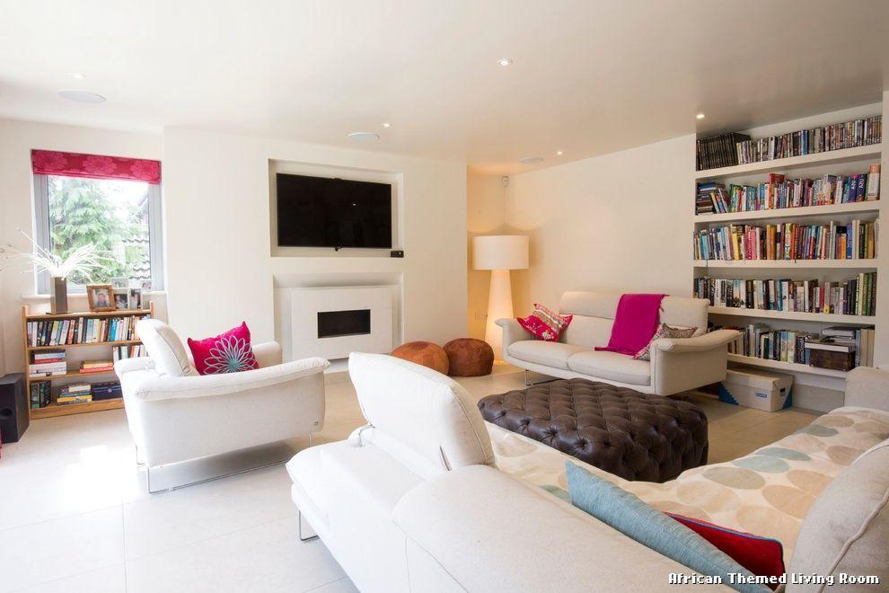 African Themed Living Room by Brunskill Design, uncategorized from