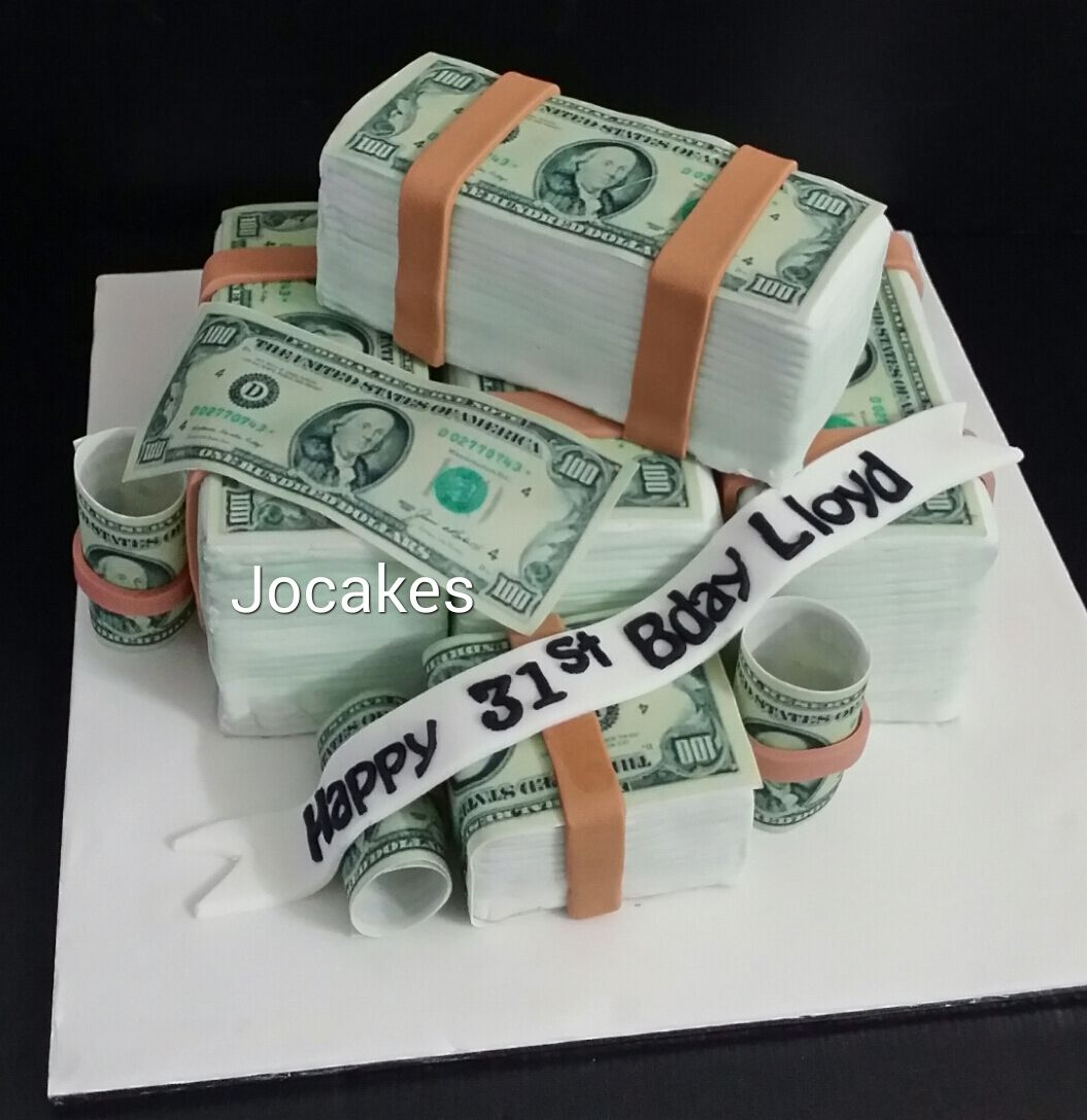 bill birthday 18th birthday birthday ideas birthday cake money themed ...