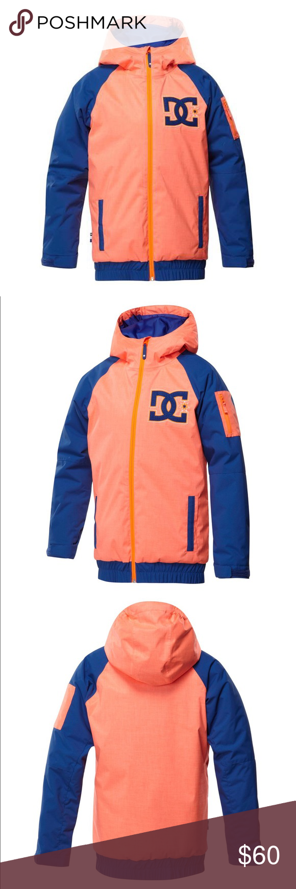 a8b864aba 🆕DC Troop Snowboard Jacket ‼️price is firm ‼ Youth sizes DC Jackets & Coats  Puffers