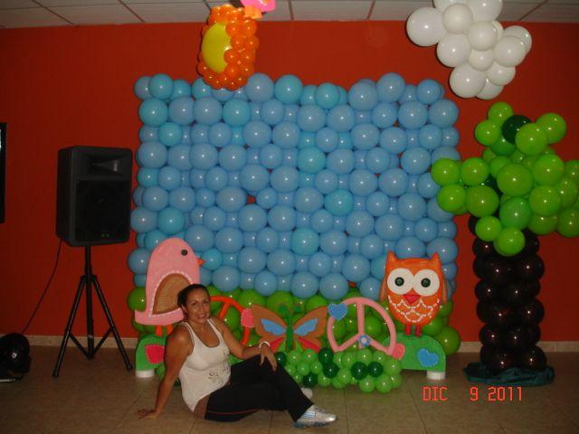 Set de foto fiesta infantil hippie chick buho mis - Fiestas hippies decoracion ...