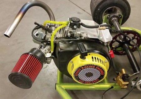 Insanely Fast 15 6 H P Engine Med Billeder Gocarts